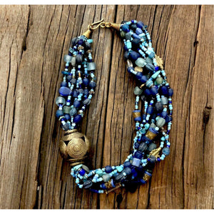 Misty Blue Necklace