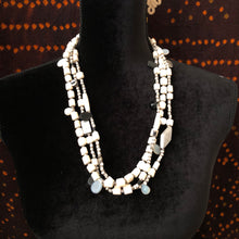 Load image into Gallery viewer, Black & White Necklace