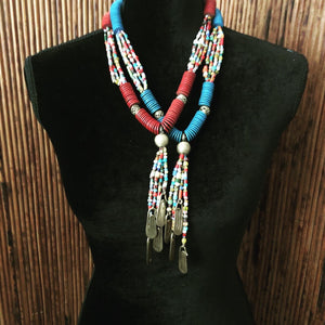 Vibrant Vinyl Necklace