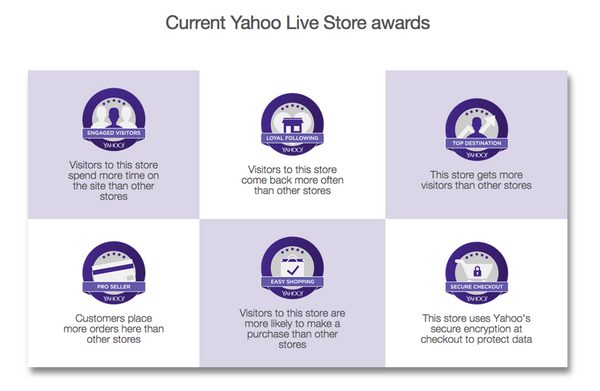 Yahoo Live Store Awards