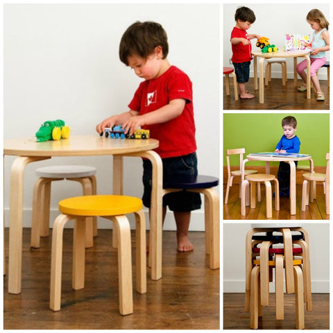 Childrens Wooden Tables & Chairs