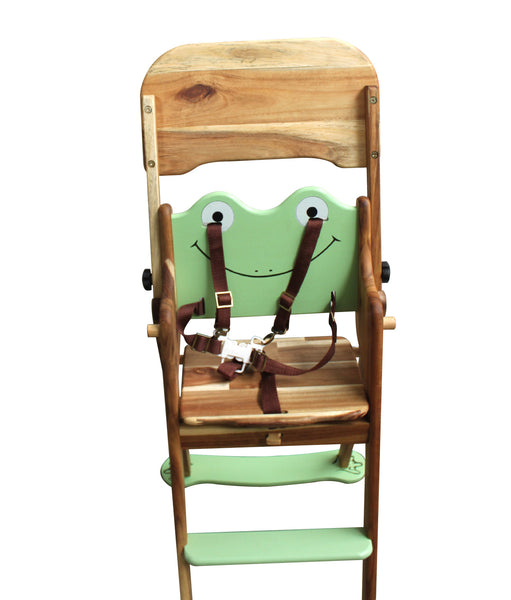 Wooden Frog High Chair