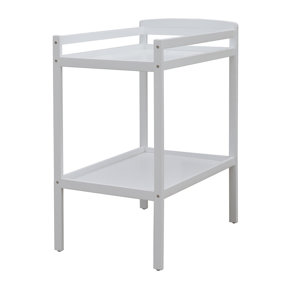 Bristol 2 Tier Baby Change Table - White
