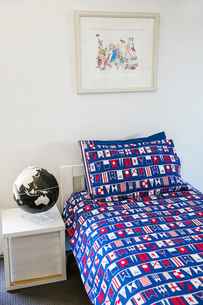 Flags Quilt Cover Set