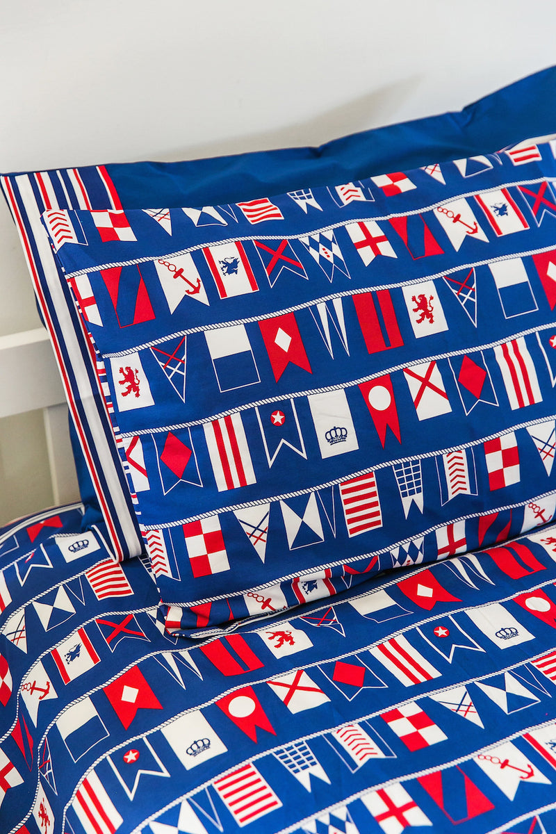 Flags Kids Quilt Cover - Cool Kids Rooms Bedding