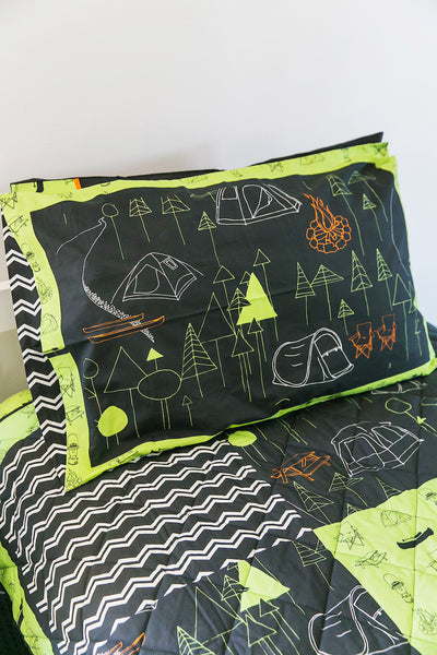 Camping Coverlet Set