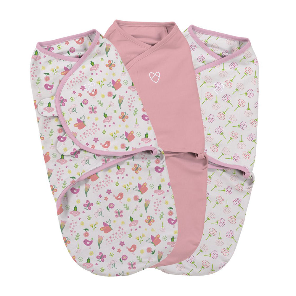 Original Swaddle Small - Secret Garden - 3PK