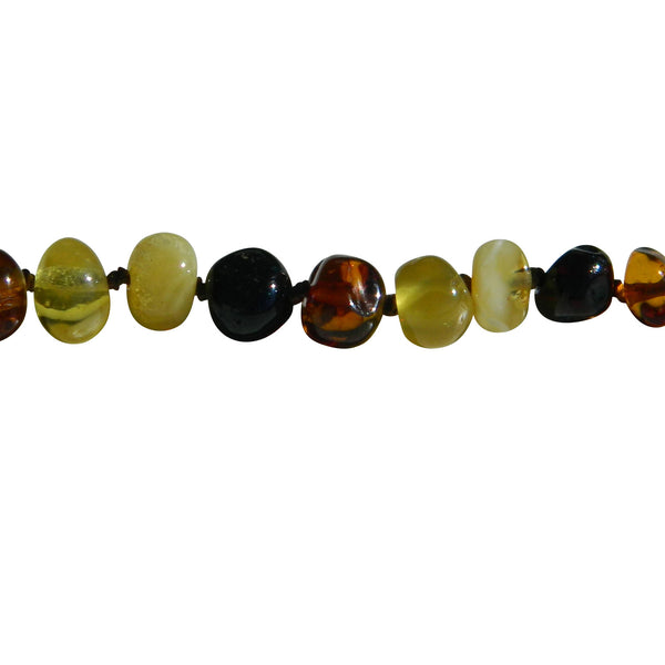 Amber Necklace - Individually knotted
