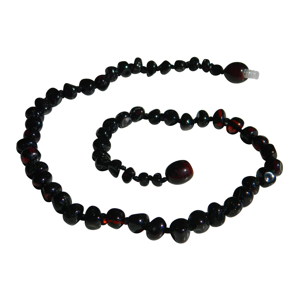 Amber Necklace - Cherry