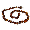 Baltic Amber Necklace Cognac