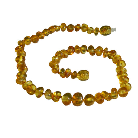 Amber Necklace Honey