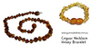 Baltic Amber Child's Necklace and Bracelet Special (large)
