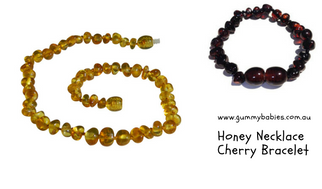 Baltic Amber Child's Necklace and Bracelet Special (small)