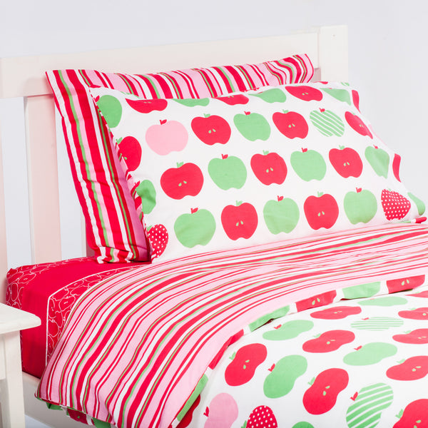 Apples Quilt Cover 2 - Cool Kids Rooms Bedding