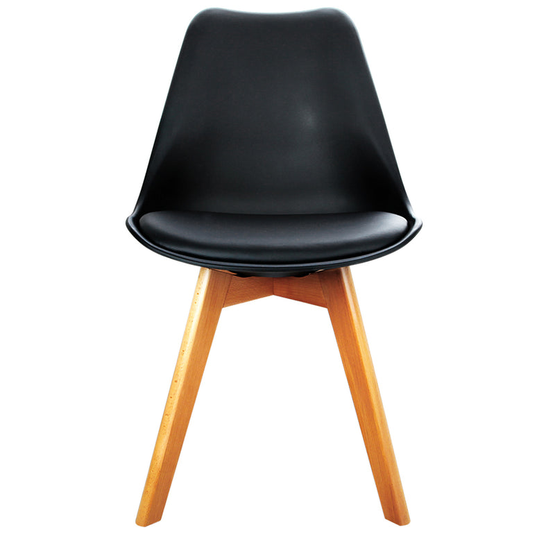 Replica Eames Dining Chairs - PU Leather (Set of 4)