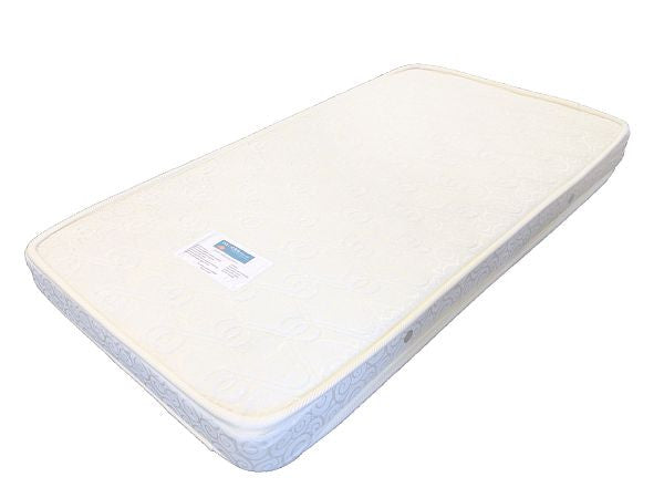 Cot mattress (130cm x 69cm x 10cm) sold separately