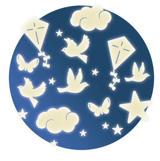 In the Sky Stickers - Glow in the Dark