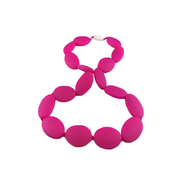 Silicone Necklace - Pink
