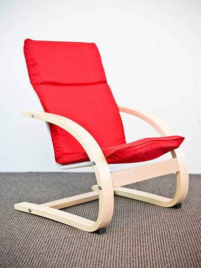 Kids Armchair - Red
