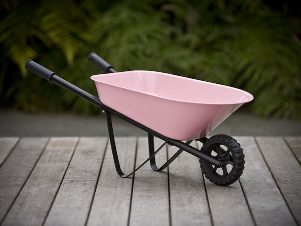 Kids Steel Wheelbarrow - Pink