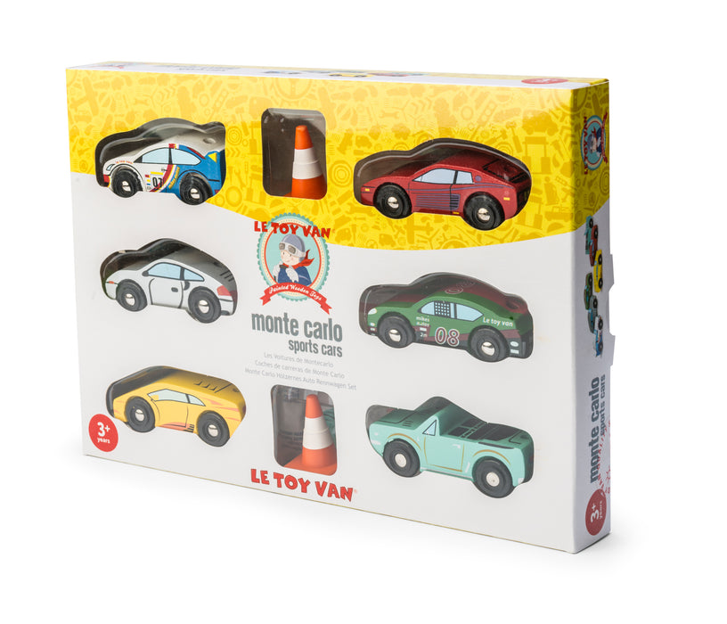 Montecarlo Sports Car Set - Le Toy Van (boxed)