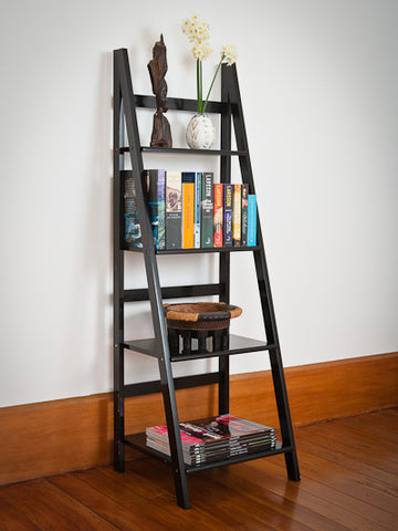 Mocka Ladder Shelf - Black