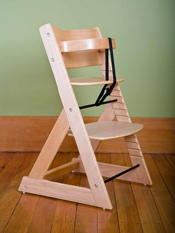 Mocka Soho Wooden High Chair - Natural