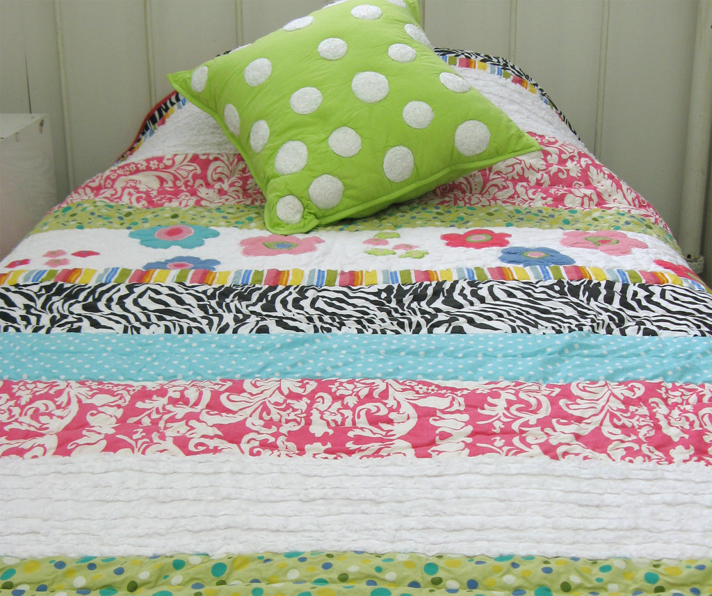 The Colourful Abby Kid's Quilt