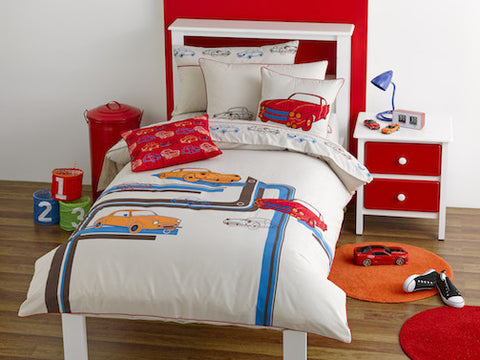 Boys Doona Cover Set, Retro