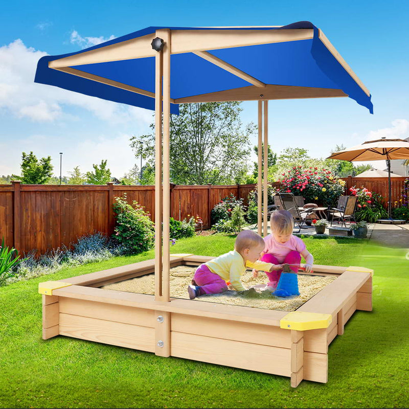 Sand Pit with Canopy - 110cm