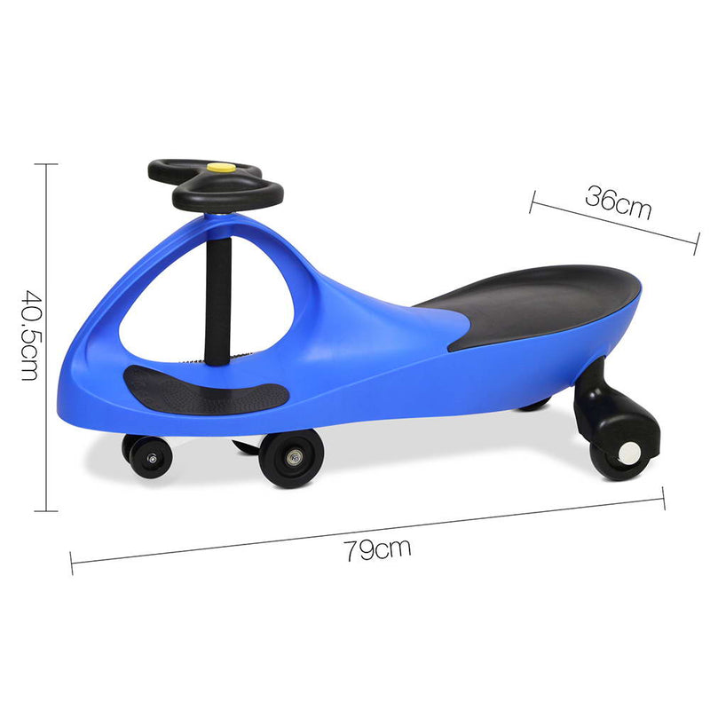 Pedal Free Swing Car 79cm - Blue