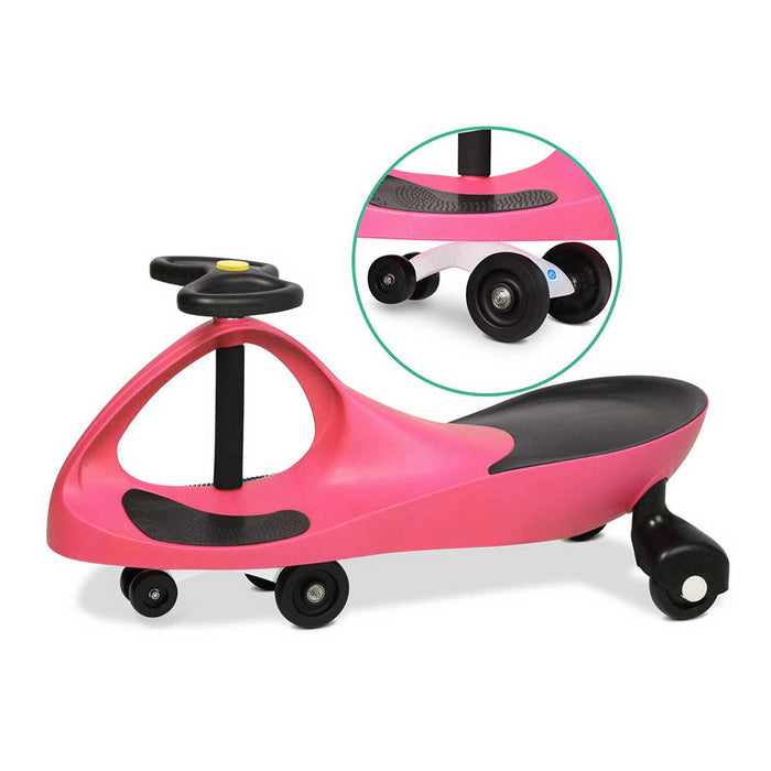 Pedal Free Swing Car 79cm - Pink