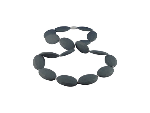 Silicone necklace - Grey
