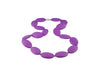 Silicone Necklace - Purple