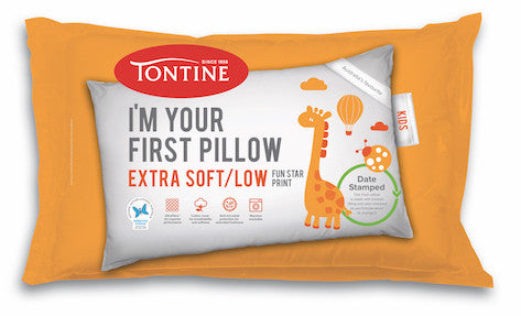 The Essential First Big Bed Pack - Tontine Pillow, Doona & Mattress Protector