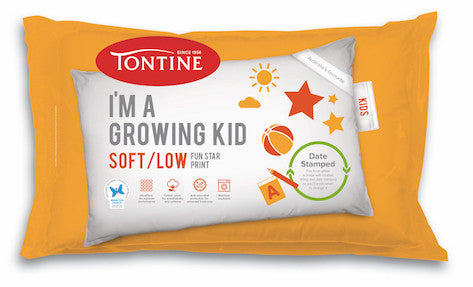 The Essential Growing Kids Bed Pack - Tontine Pillow, Doona & Mattress Protector