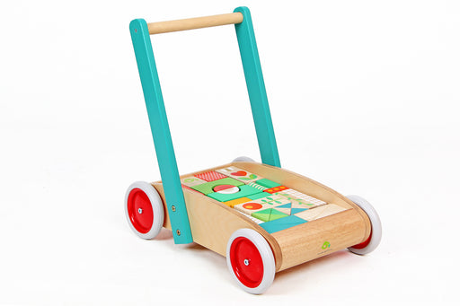 Block Wagon by Tenderleaf Toys