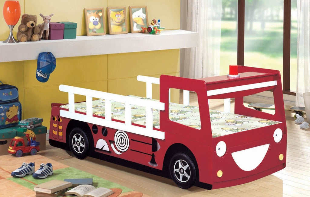 Red Fire Engine Bed