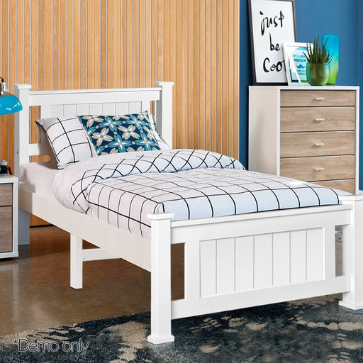Colby Pine Wooden Bed