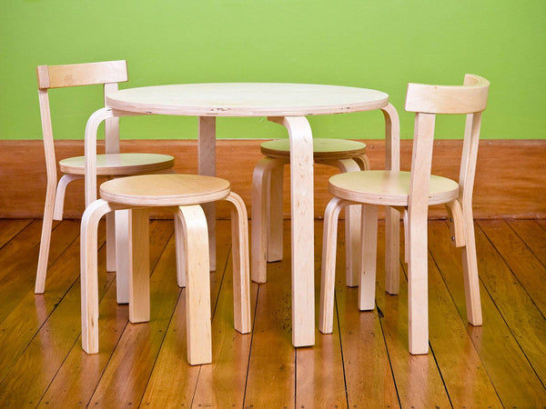 Mocka Kids Wooden Table and Chairs (sold separately)