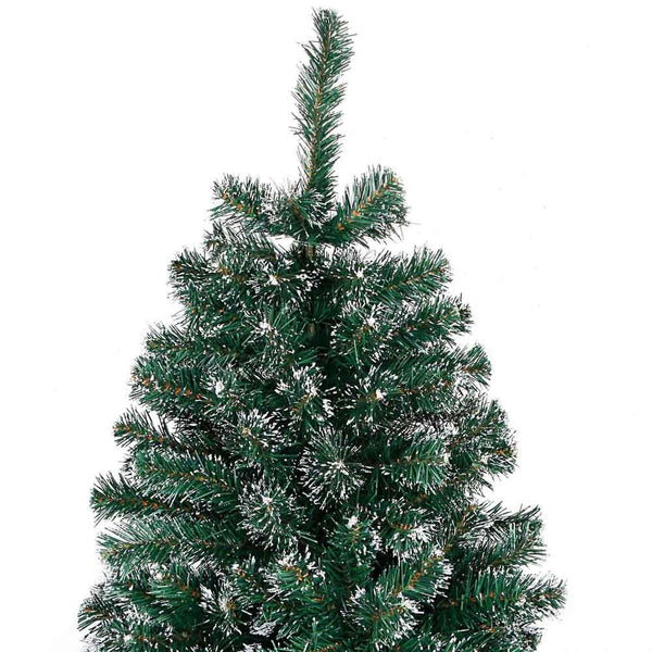 Snowy Christmas Tree 180cm Green