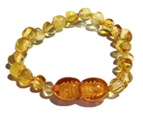 Baltic Amber Bracelet Honey