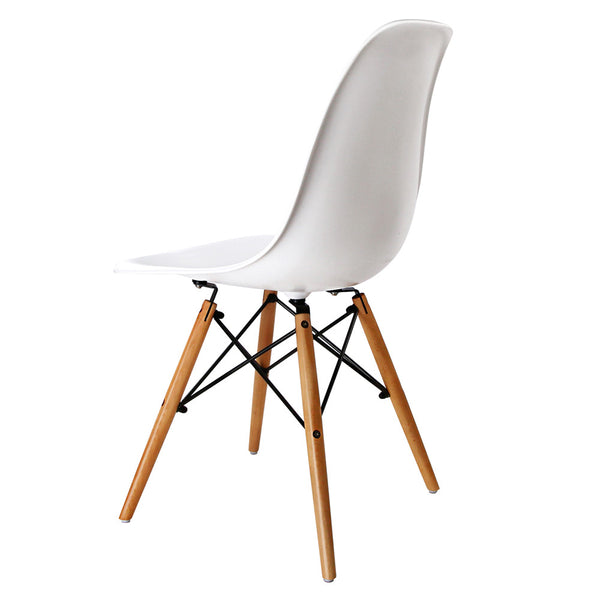 Set of 2 Replica Eames DSW Eiffel Dining Chair