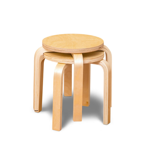 Bunyip Kids Natural Stools - Set of 2