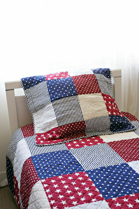 Stars & Stripes Coverlet