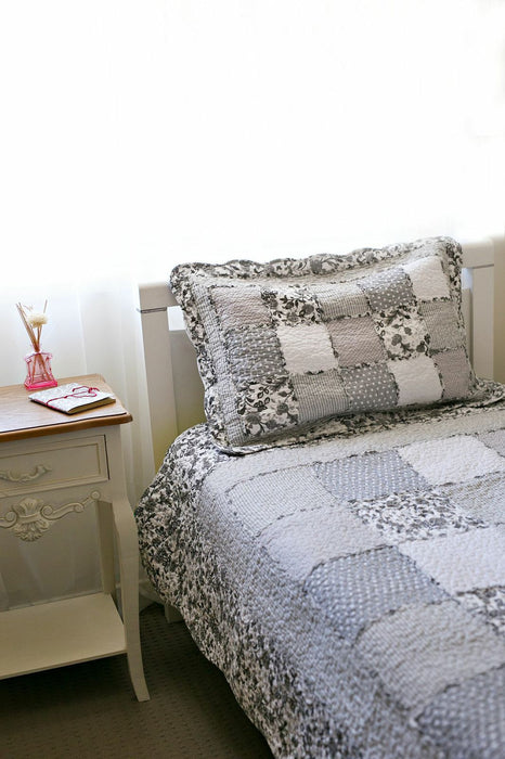 Floral Coverlet