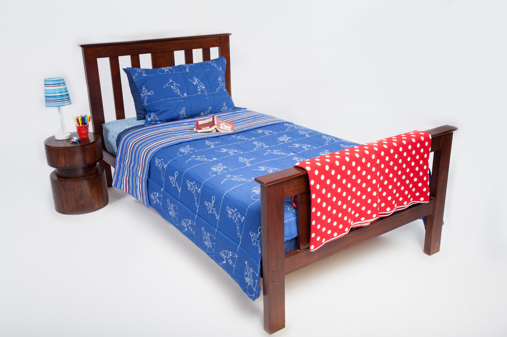 Kids Bedding - Spotted Throw