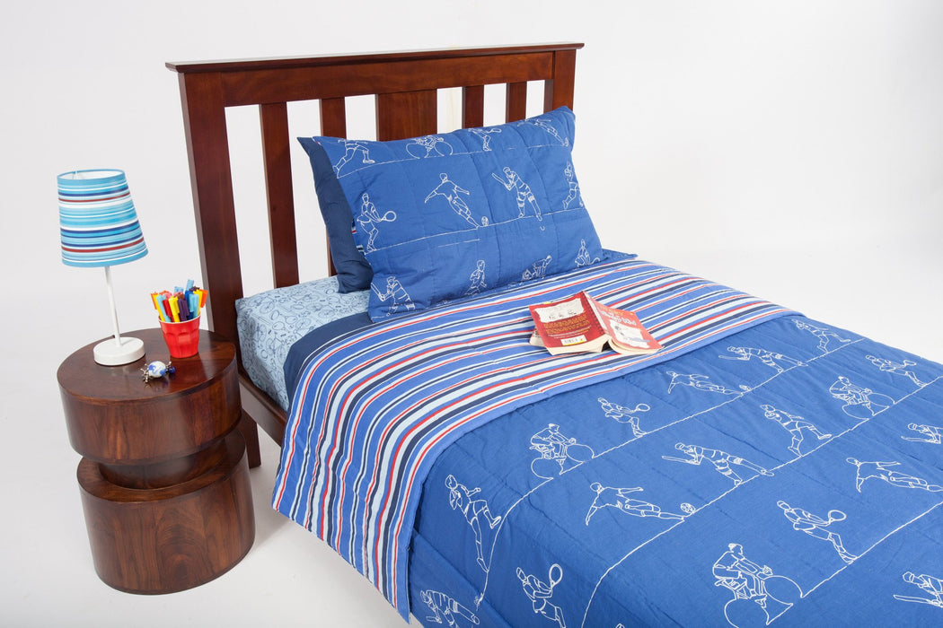 Kids Sports Coverlet