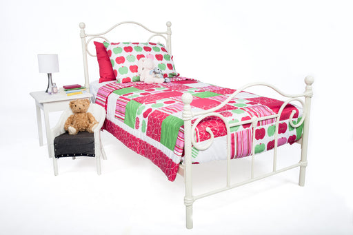 Apples Patchwork Coverlet