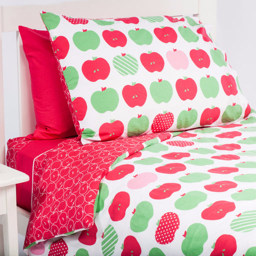 Apples Kids Quilt Cover 1 - Cool Kids Rooms Bedding